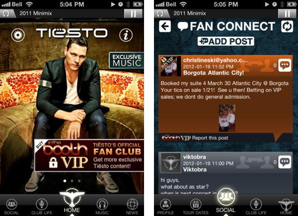 Tiesto's Official iPhone App [News]
