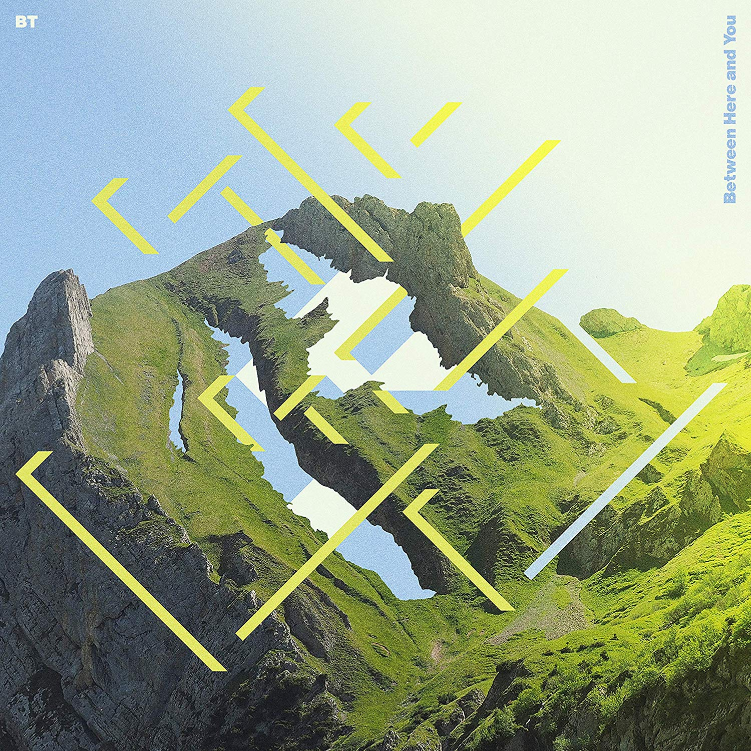 Artwork for 'Between Here and You' by BT