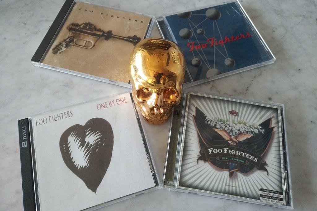 FOO FIGHTERS Four-Album Bundle Giveaway!
