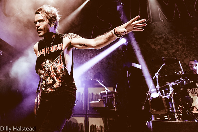 Sum 41 (w/ Seaway, Super Whatevr) @ House of Blues (San Diego, CA) on April 28, 2018