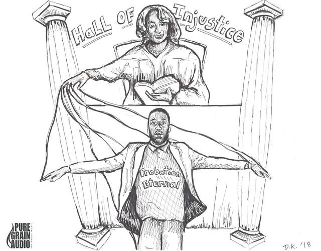 pensive_3_-_hall_of_Injustice_-_ink_drawing_b_damon_kardon