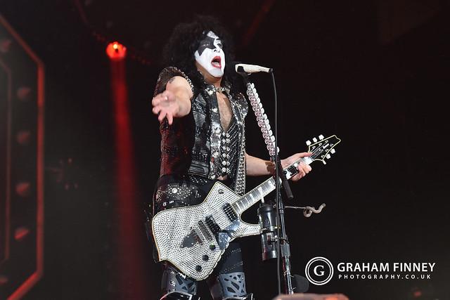 Kiss @ Utilita Arena (Newcastle, UK) on July 14, 2019