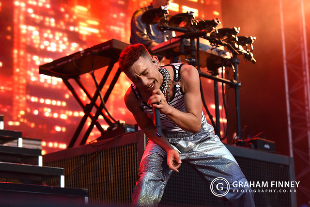 Years & Years @ Open Air Theatre (Scarborough, UK) on July 18, 2019