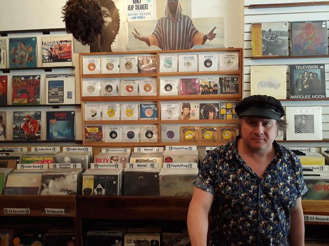 Vinyl Variety: Solo Artist JONNY COUCH Surfs Brooklyn, NY's Best Record Shops