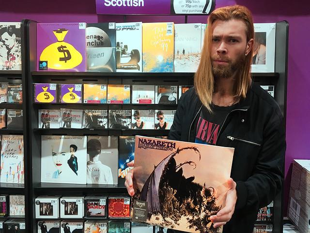 Vinyl Variety: Alt-Rock Trio NORTH ATLAS Grade Glasgow, Scotland's Top Records Shops