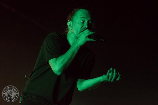 Thom Yorke at Scotiabank Arena (Toronto, Ontario) on September 27, 2019