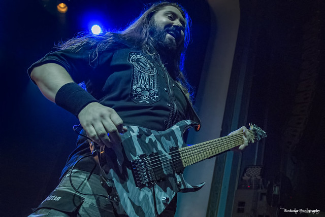 Sabaton (w/ Hammerfall) at Danforth Music Hall (Toronto, Ontario) on October 29, 2019