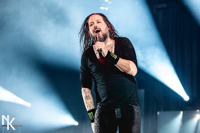 Korn (w/ Breaking Benjamin) at SNHU Arena (Manchester, NH) on January 25, 2020